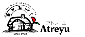 北海道のペンションアトレーユのロゴ